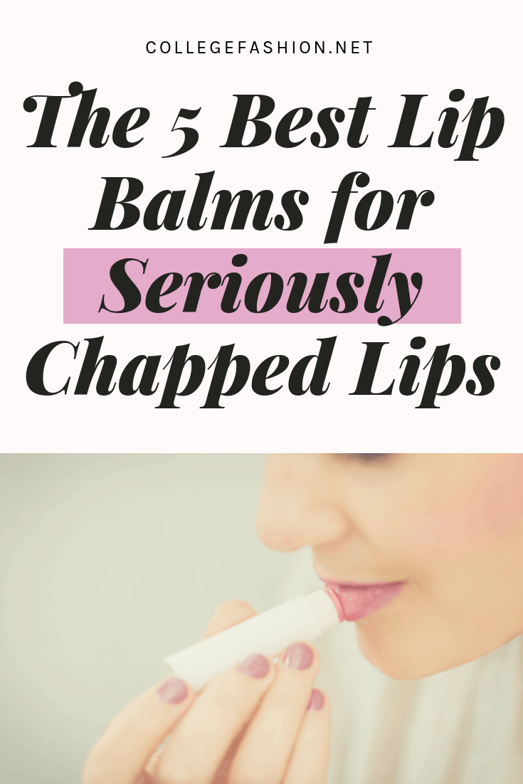 The 5 best lip balms for seriously chapped lips