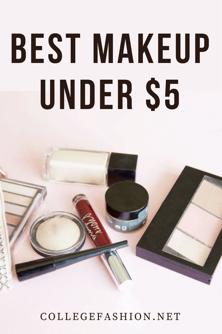 Best makeup under  - best products at the drugstore