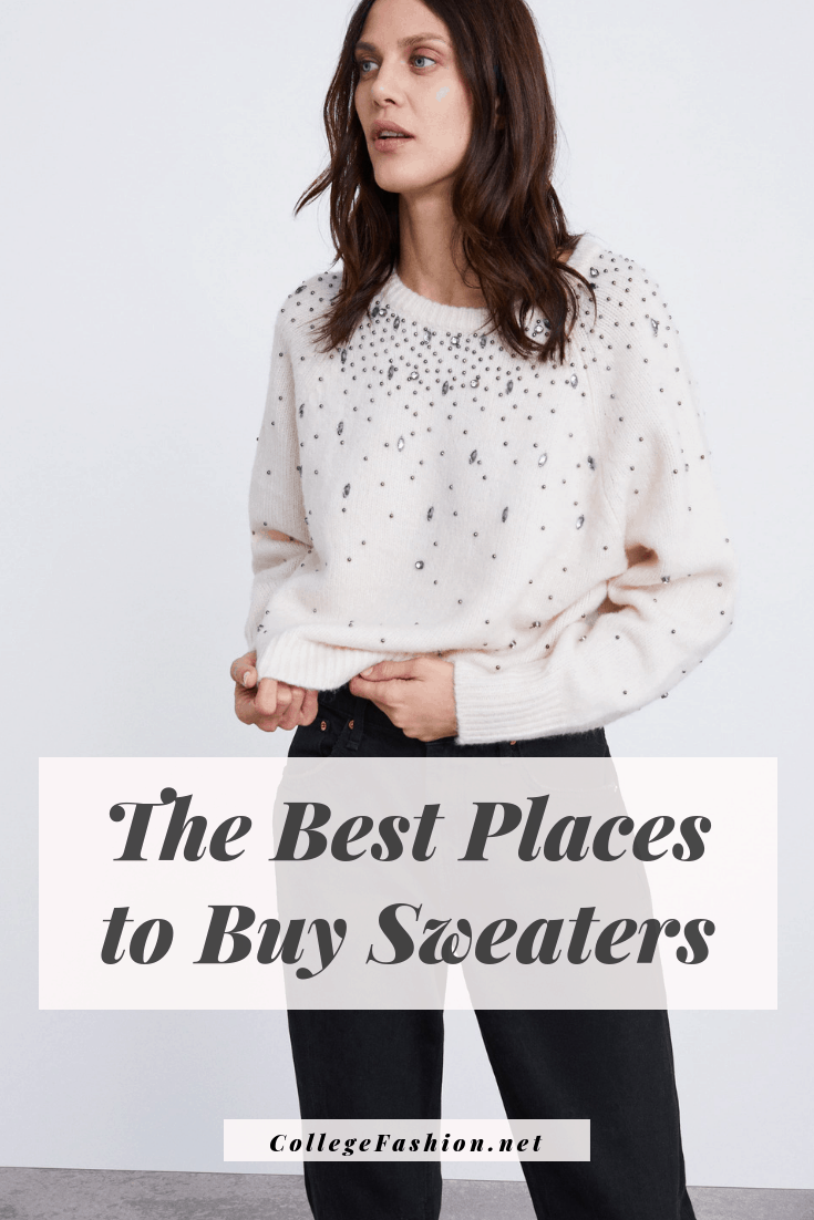 The best places to buy sweaters - the ultimate guide to where to buy sweaters on a budget