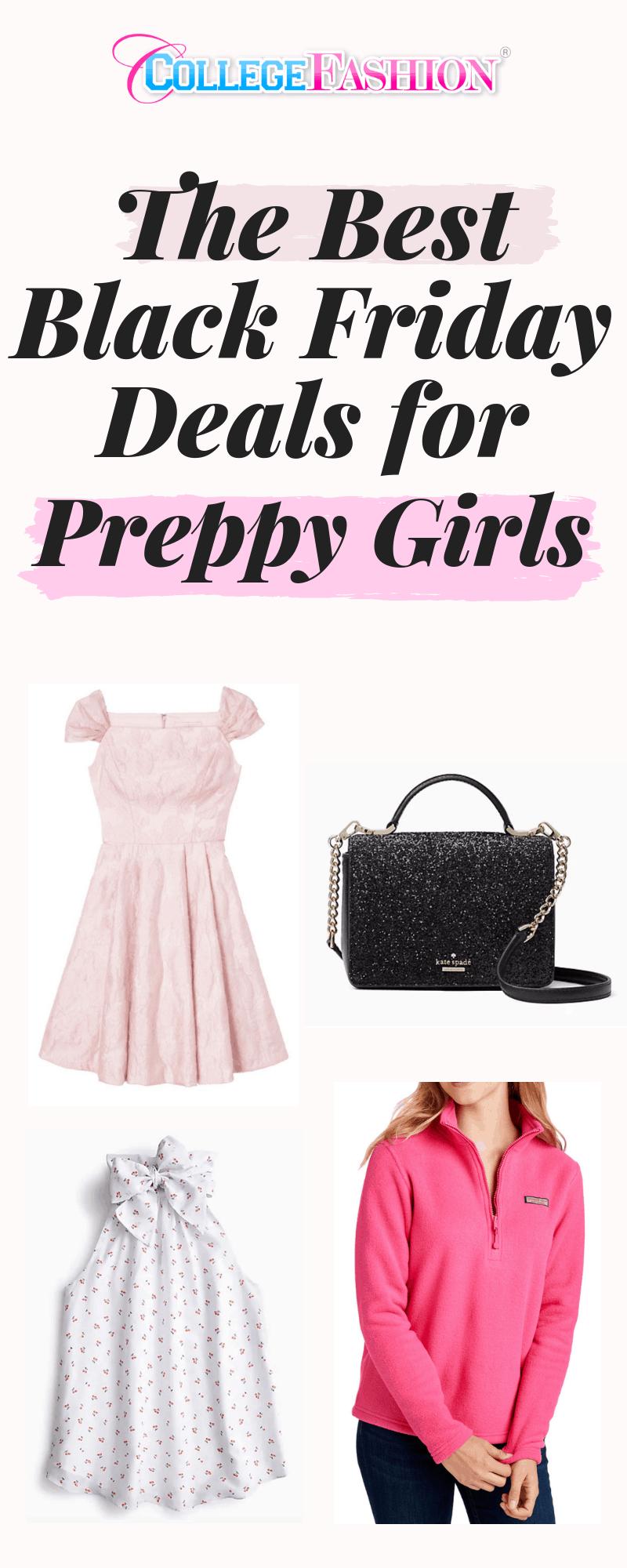 Best Black Friday deals for preppy girls