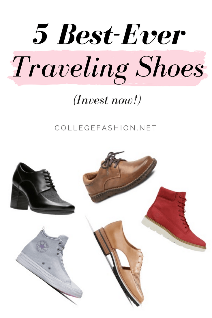 Best shoes for travel: We found five pairs that are comfortable, stylish and versatile. The perfect traveling shoes for fashionistas!