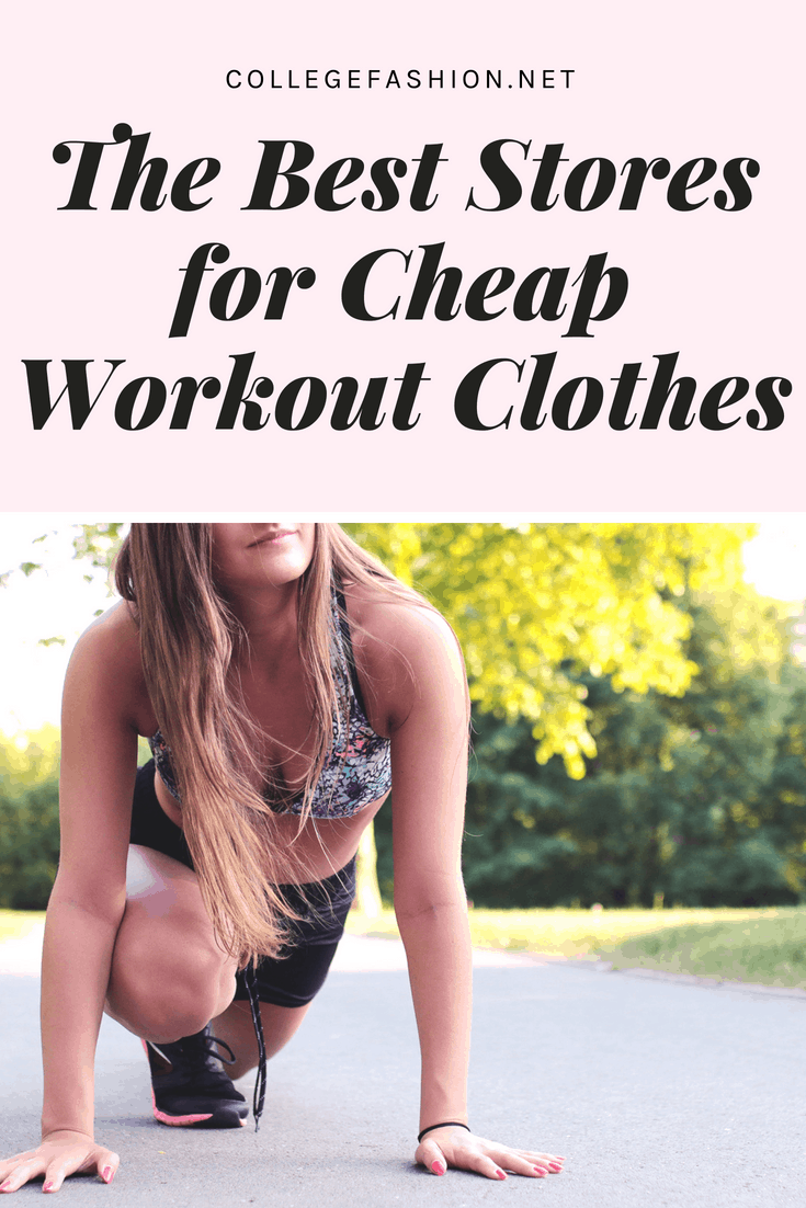 Best stores for cheap workout clothes
