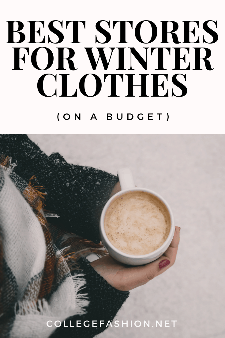 Best stores for winter clothes on a budget -- where to shop for warm winter clothes that don't cost a lot