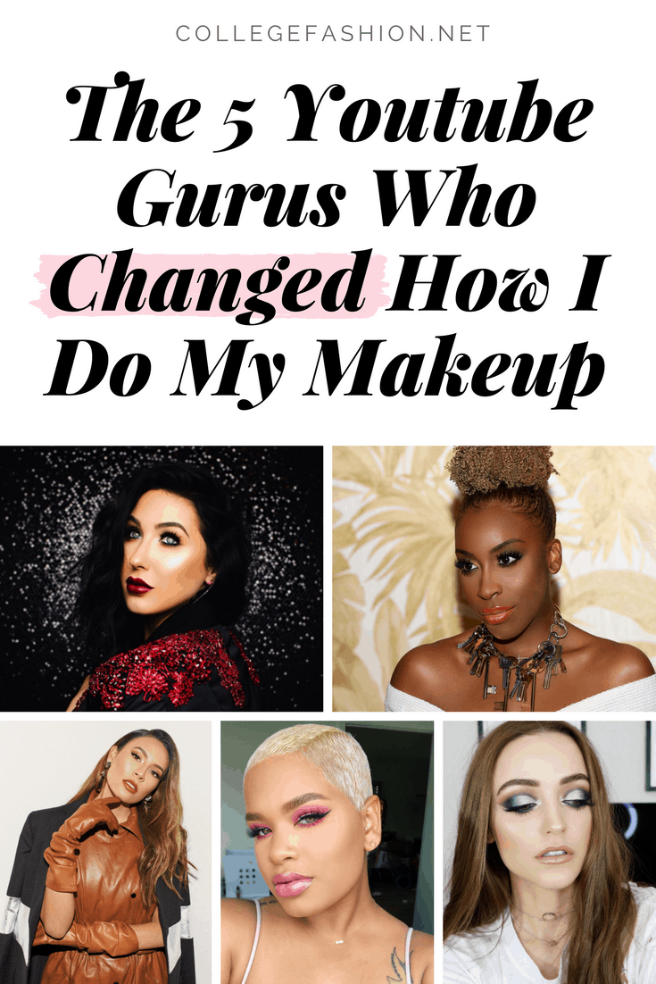 The top 5 youtube gurus who changed how I do my makeup - these are the best youtube beauty gurus you need to be following