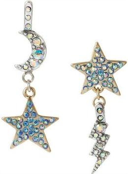 Betsey Johnson statement earrings