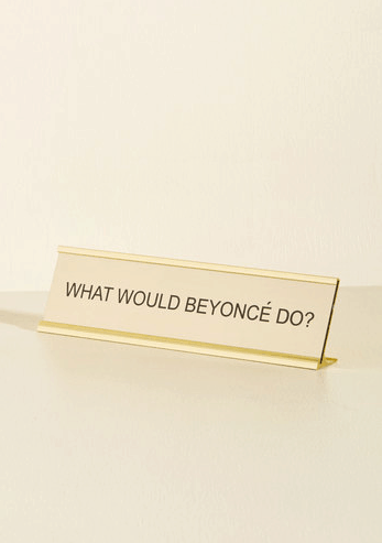 Sassy Desk Plaque