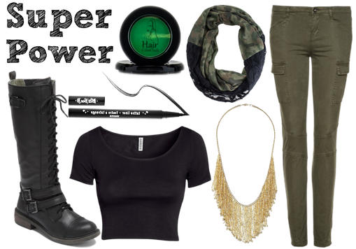 Beyonce superpower outfit