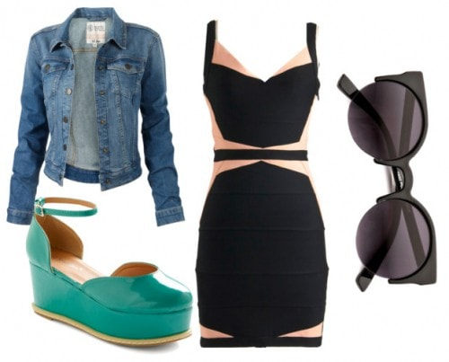 Awesome Going-Out Outfit for Large Chested Ladies