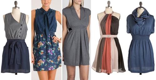 Big Bust Minidresses
