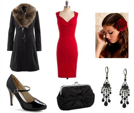 Billie Holiday Outfit 3