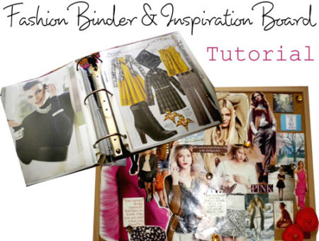 Fashion Binder & Inspiration Board Tutorial