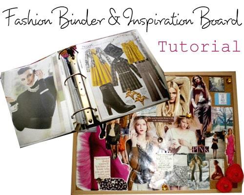 Fashion Binder & Inspiration Board Tutorial