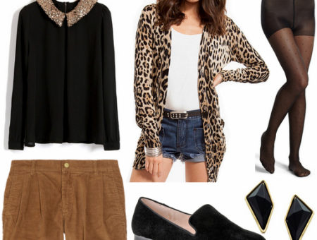 Black and brown outfit 4