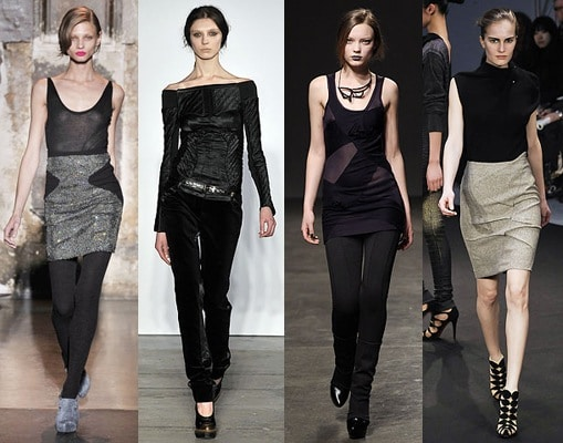 Black and grey - fall 09 color trend