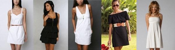 Little White Dresses and Little Black Dresses