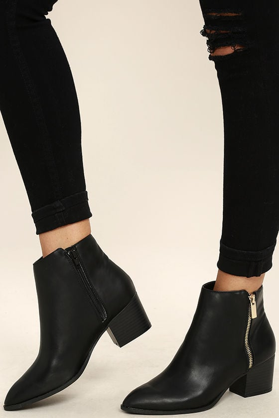 c4144f8404b Stop Everything  We Found the Perfect Black Ankle Boots - College Fashion