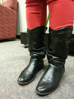 Black boots at loyola university new orleans