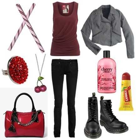 Black cherry outfit