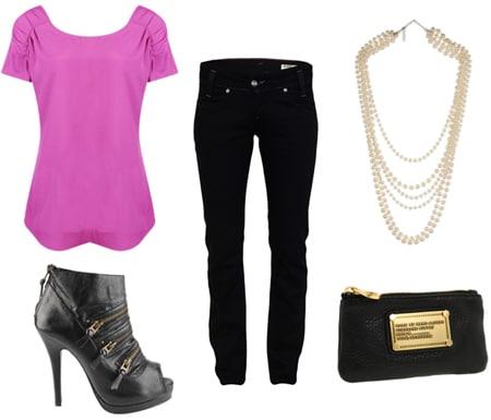 Tipsinvestment Fashion piece black jeans foto
