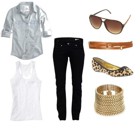 Tipsinvestment Fashion piece black jeans