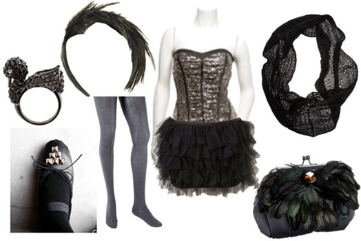 Fashion inspired by Black Swan