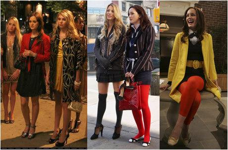 Moda de Blair Waldorf.