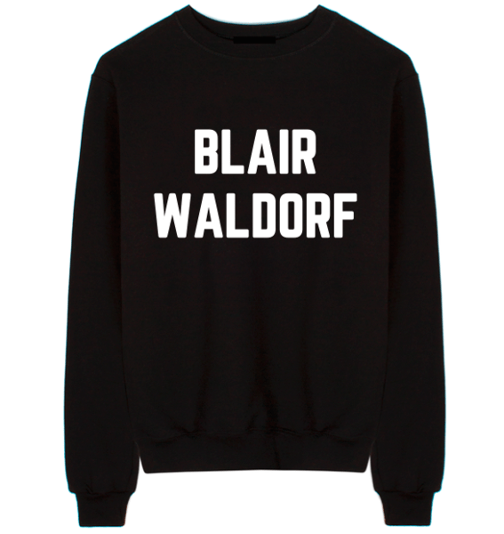 Gossip Girl sweatshirt