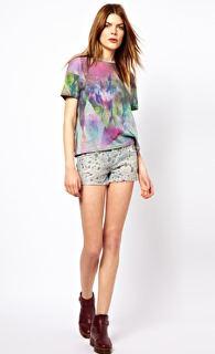 Blank nyc print shorts