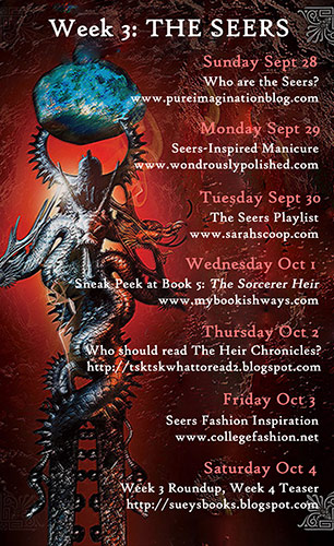 World of Weir Blog Tour Calendar - Week 3