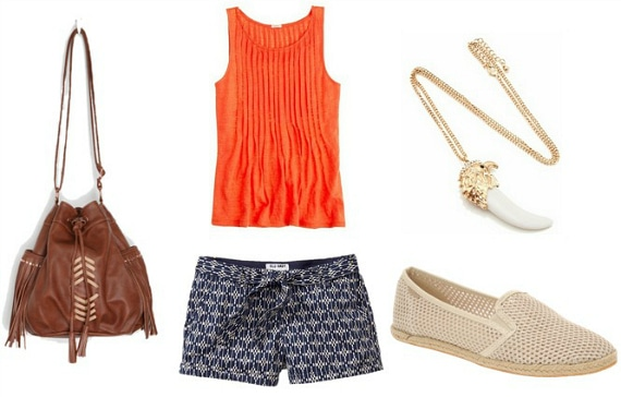 blue and orange outfit 1