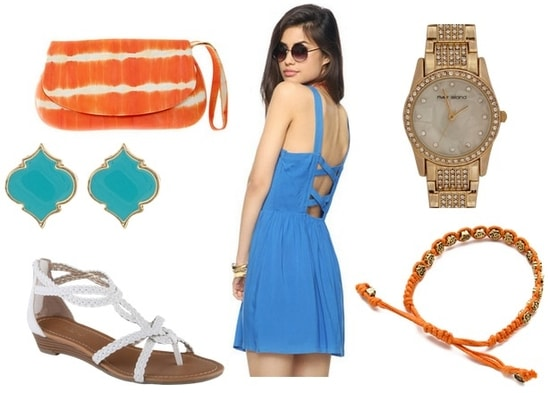 blue and orange outfit 4