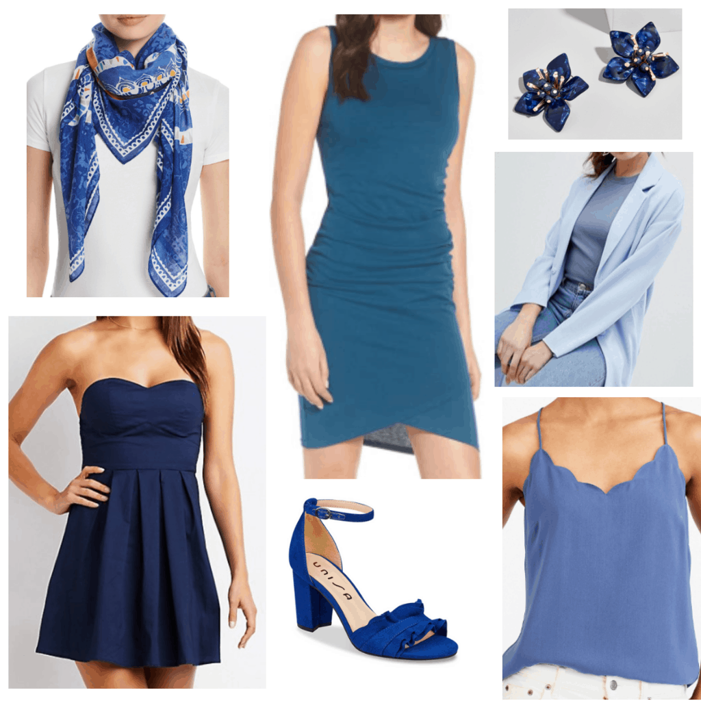 All Blue Clothes and Accessories