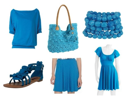 Blue Clothing and Accessories