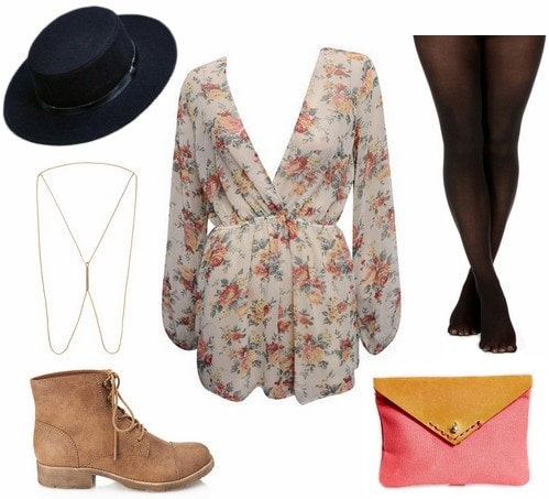 Boater hat outfit