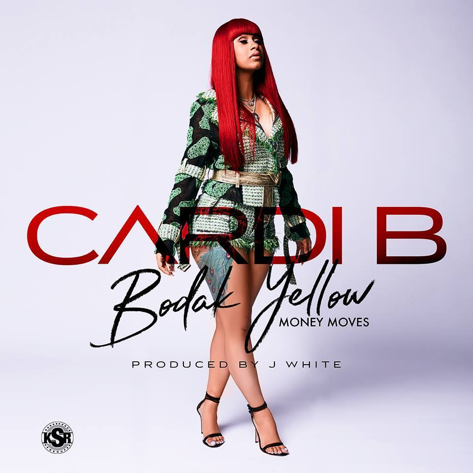 Cardi B Bodak Yellow single cover