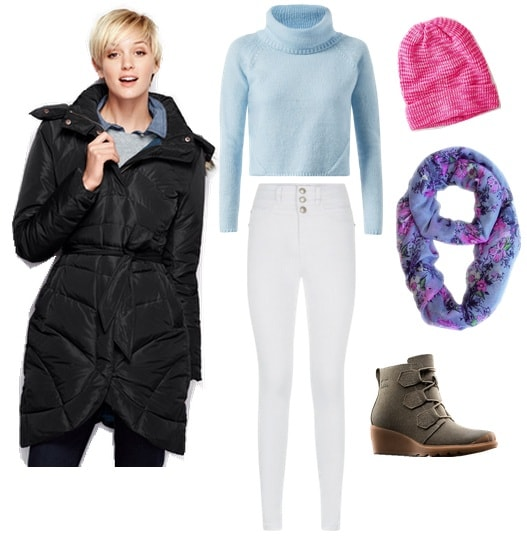 How to wear pastels in winter