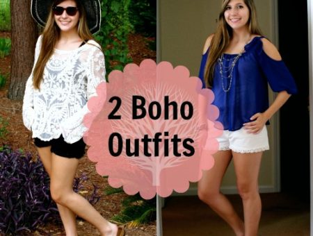 Boho back to school outfits