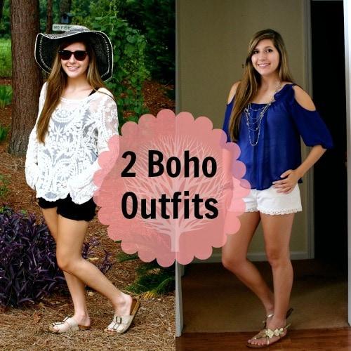 Boho back to school outfits