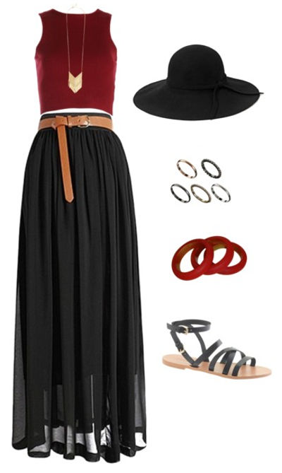 Boho gameday outfit