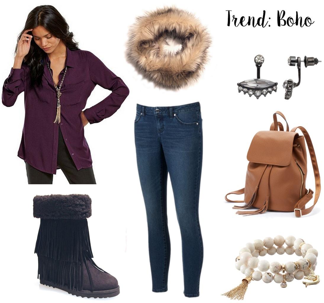 Madden Girl x Kohls Boho Chic outfit