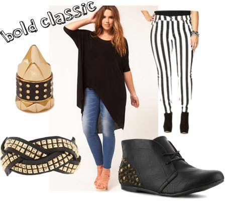 Bold classic outfit set