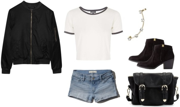 P!ATD Bomber Jacket Outfit