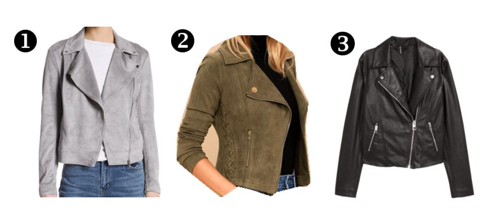 mot jackets options