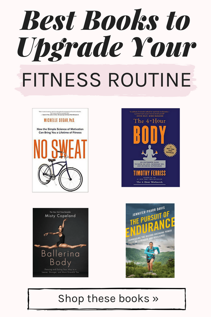 Books to upgrade your fitness routine