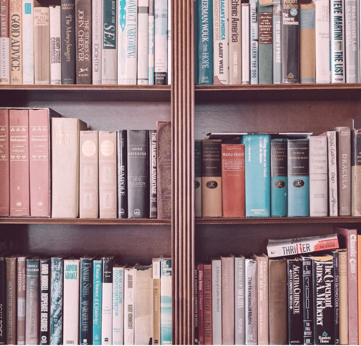 Joy Bryant's Bookshelf