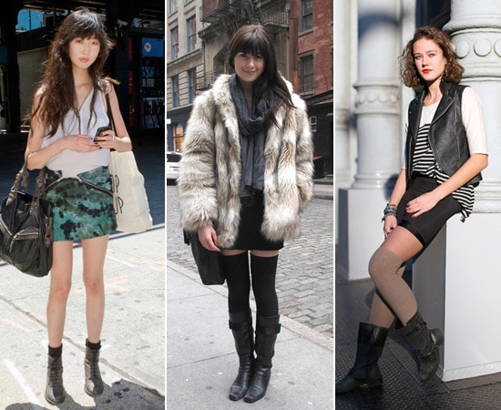 How to wear boots and socks together