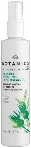 Boots Botanics rosewater toning spritz