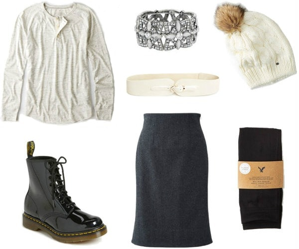 Borrowed from the boys winter outfit