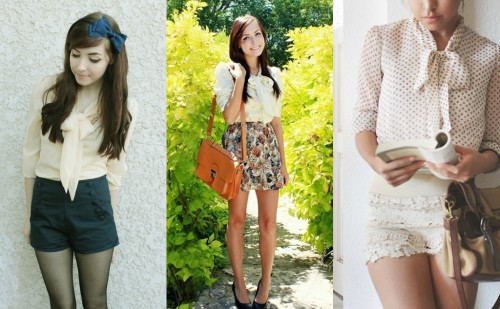 Bow Blouse Style Looks