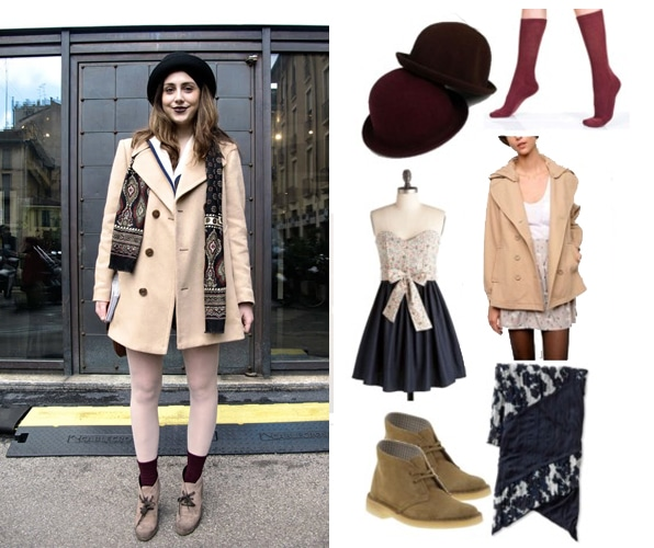 Bowler hat outfit